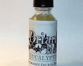 Eucalyptus Scented Incense or Fragrance Oil Formulated for Burners or Warmers - Premium Grade & Quality!