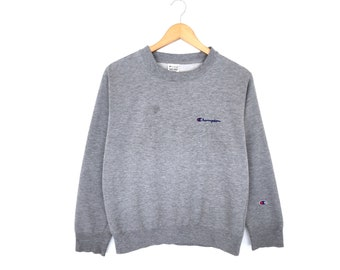 Champion Small Logo Spellout Embroidery Pullover Jumper Sweatshirt