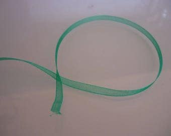 Braid 3mm Green organza Ribbon