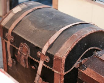 Vintage Dome Trunk