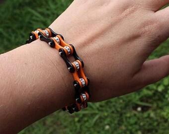Orange is the New Black Chain Bracelet