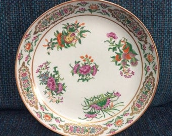 Exquisite Qing Dynasty Platter