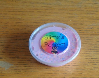 rainbow pink frosting
