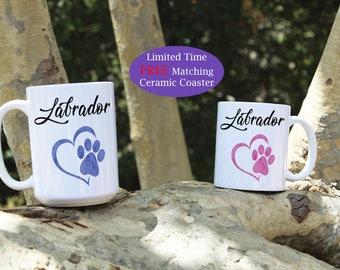 Labrador coffee mug, Labrador dog mug, Labrador mug, Coffee mugs, Labrador Puppy, Labrador dogs, Labrador lover, Labrador gift, Dog mug, Dog