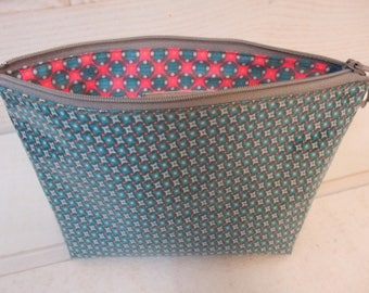 Cover Plate (No.10) coated blue Petit Pan fabric