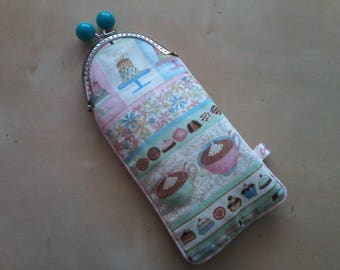 """Delicacies"" glasses case or pouch"
