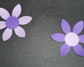 SCRAPBOOKING Lot Punch new flower 3 color choice