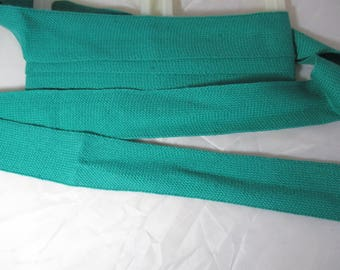 2 metres of Ribbon strap green 3.5 cm