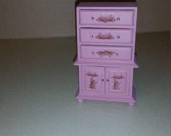Dollhouse miniature dresser