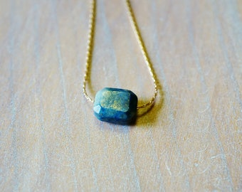 Lapis Lazuli and Gold filled necklace