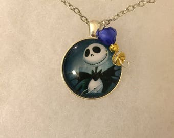 Handmade Jack Necklace with Charm