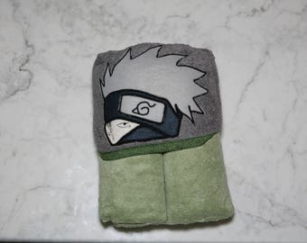 Kakashi Hooded Towel