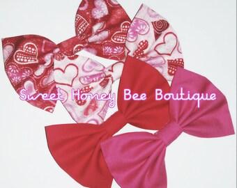 Valentine's Bow Set