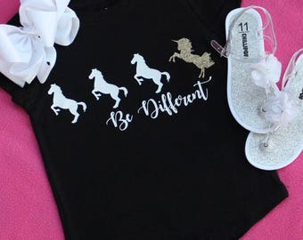 Be Different T shirt Girls Size 4/5