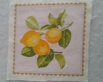 Fabric (fabric coupon) cut of 15 * 15cm