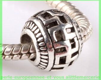 N607 European spacer bead for bracelet charms