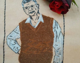 Customized Portraits Hand Embroidery