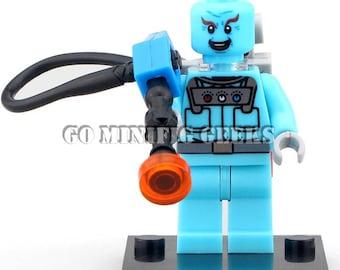 Custom Mr Freeze Minifigure DC Comics Fits Lego UK Seller