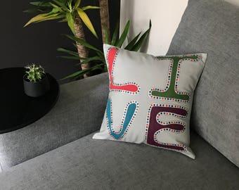 Retro Boho #4 cushion cover