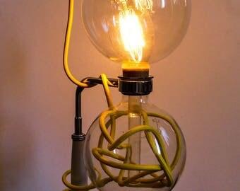 Vintage lamp original piece unique filament bulb