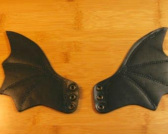 Leather Bat Wings