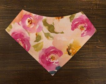 Rosé All Day pet bandana
