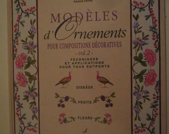 """Painting book """"designs of ornaments for decorative composition."""