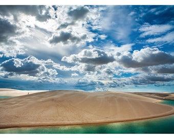 Water Sand Sun Sky