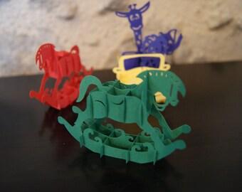 Deco Pop Up paper - children