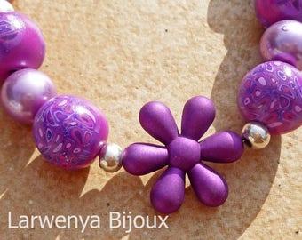 Currently in store - Bracelet - Pop flower