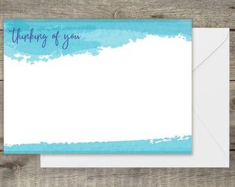 Custom Designed Thinking of You Card.