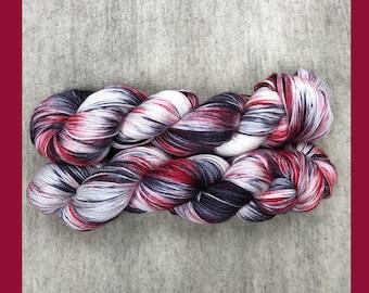 Bloodlust Hand Dyed Yarn
