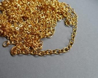 Regular Gold Oval link chain