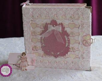 Scrapbook Mini baby girl, photobook, photo album