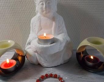 "Bracelet stones natural ""carnelian"" (introductory offer)"