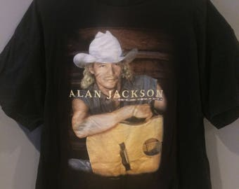1998 Alan Jackson high mileage tshirt