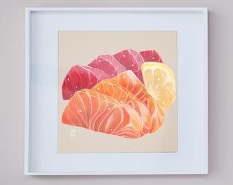 "Sashimi 6"" x 6"" Prints"