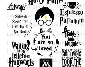 Harry Potter svg files, Harry Potter svg, quotes harry potter svg, Harry  Potter