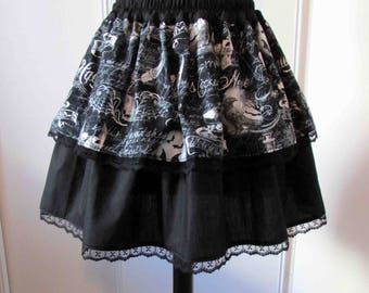 Wicked Potions Gothic skirt