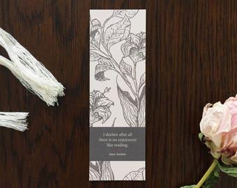 """Jane Austen """"I declare..."""" Bookmark"""