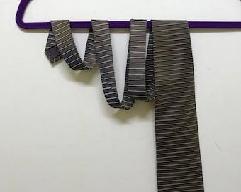 Rare!!! Michiko London Koshino Necktie Stripes