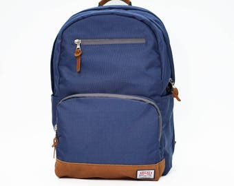 Fossa Backpack NAVY, Backpack Men, Nylon Backpack, Backpack laptop, Large volume backpack