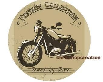 25mm, vintage motorcycle
