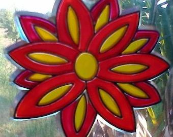 Small Flower Sun Catcher