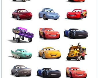 Cars 3 Temporary Tattoo Sticker. Party Supplies Bunting Lolly Loot Bags