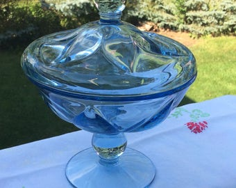 Candy dish, Viking Glass 1944-1970
