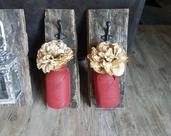 Hanging jars set of two