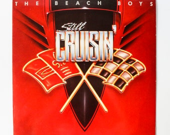 The Beach Boys - Still Cruisin' / Vinyl Record LP Music Album / 1989 Sunshine Pop Rock with Brian Wilson / Kokomo, I Get Around, ...