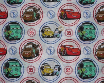 "Cotton fabric child's theme ""CARS"""