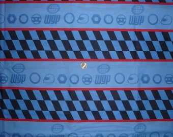 "Cotton fabric child's theme ""Formula 1"""